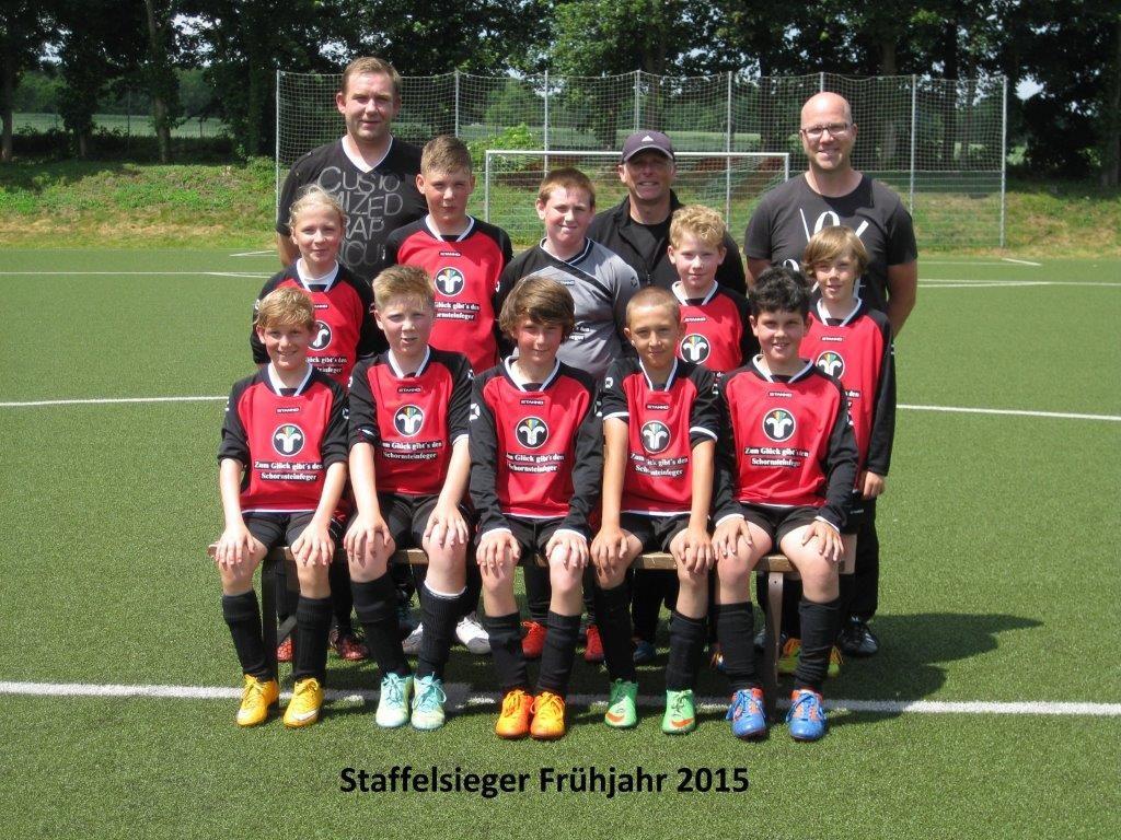 E1 Staffelsieger Frühjahr 2015