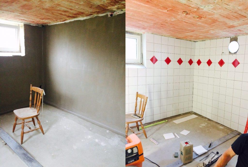 Sanierung Duschen Heim