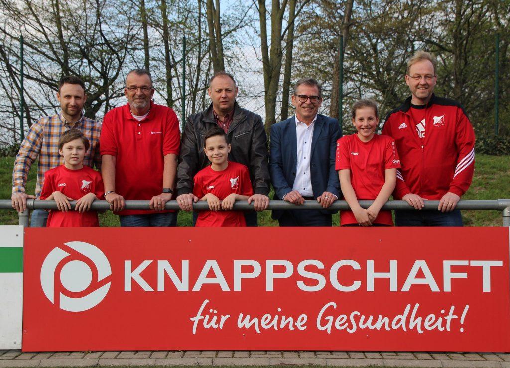 Kooperation Eintracht Warden Knappschaft